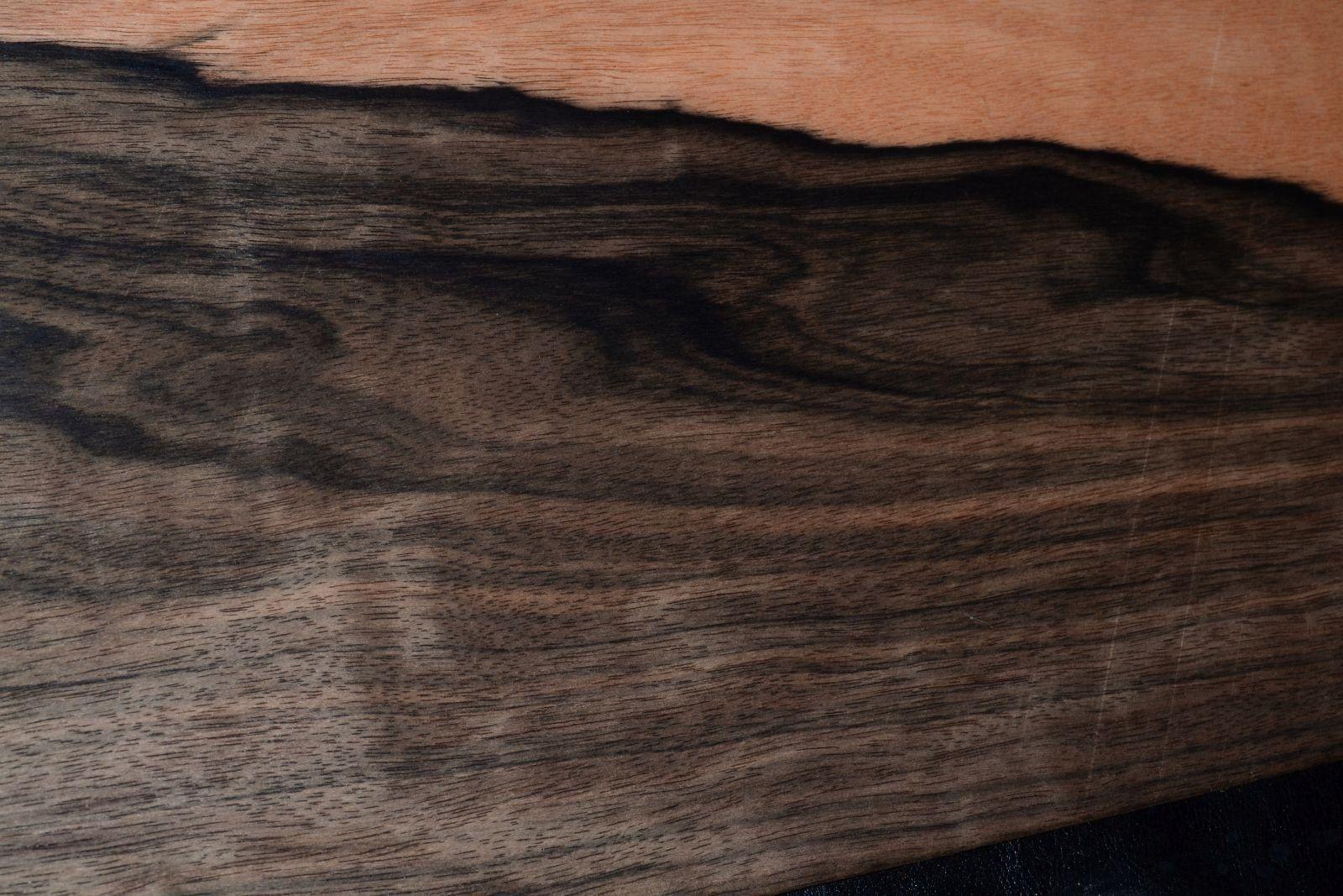 Bubinga Wood Veneer Sheets 9 x 34 African Rosewood                   F8630-17