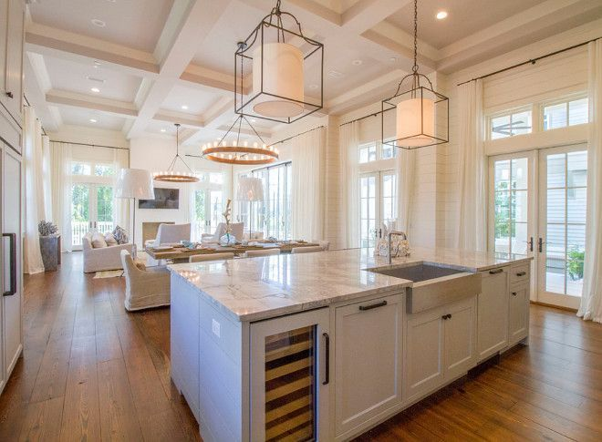 The Kitchen Pendants Are The Gustavian Lantern From Circa Lighting Alluring Chandelier Kitchen Decorating Inspiration