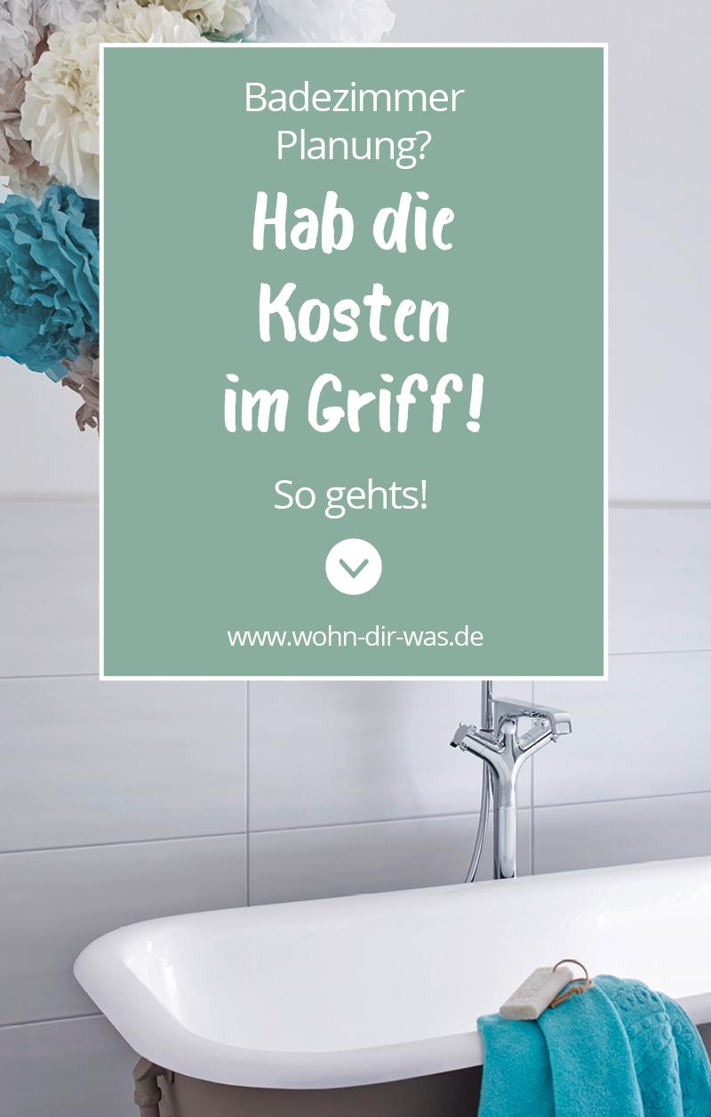 So viel kostet dein Traumbad | Badezimmer Planung | Pinterest ...
