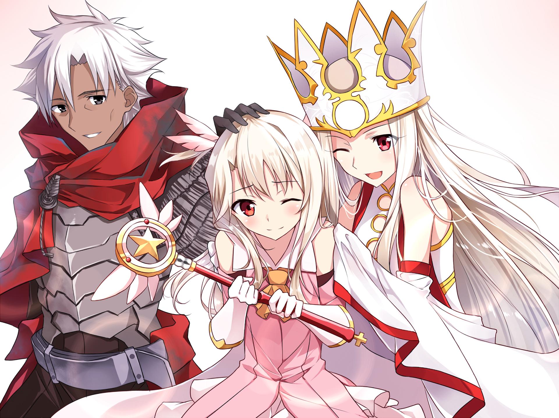 Anime Fate Kaleid Liner Prisma Illya Kiritsugu Emiya Illyasviel