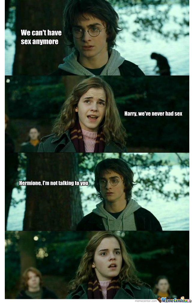 with hermione sex harry potter having