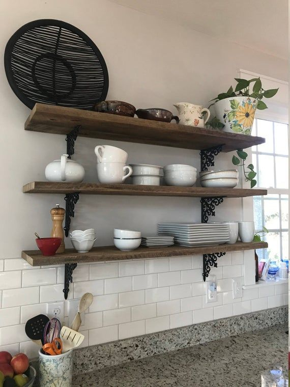 These Handmade Extra Long 47 Barnwood Shelves Have Become One Of