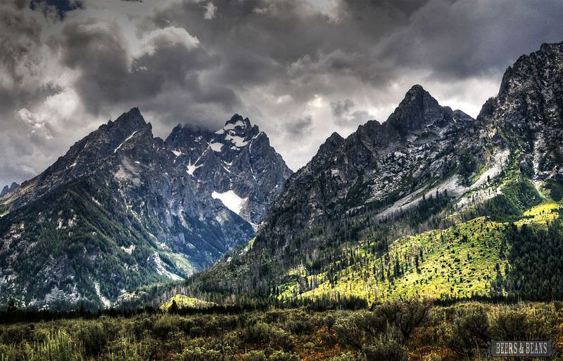 Grand Tetons National Park - such a sight to see!