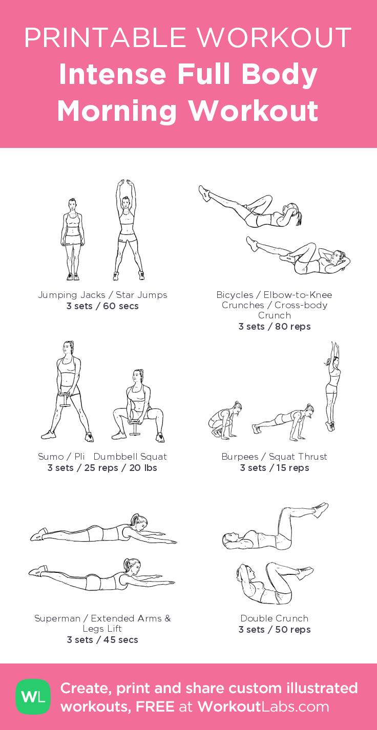 Intense Full Body Morning Workout · WorkoutLabs Fit        Intense Full Body Morning Workout · Worko...