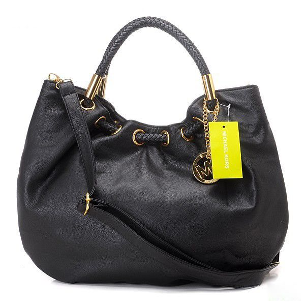 6ffea41e5a Best Michael Kors Skorpios Large Shoulder Bag Black For Sale by  www.wholesalemk.com