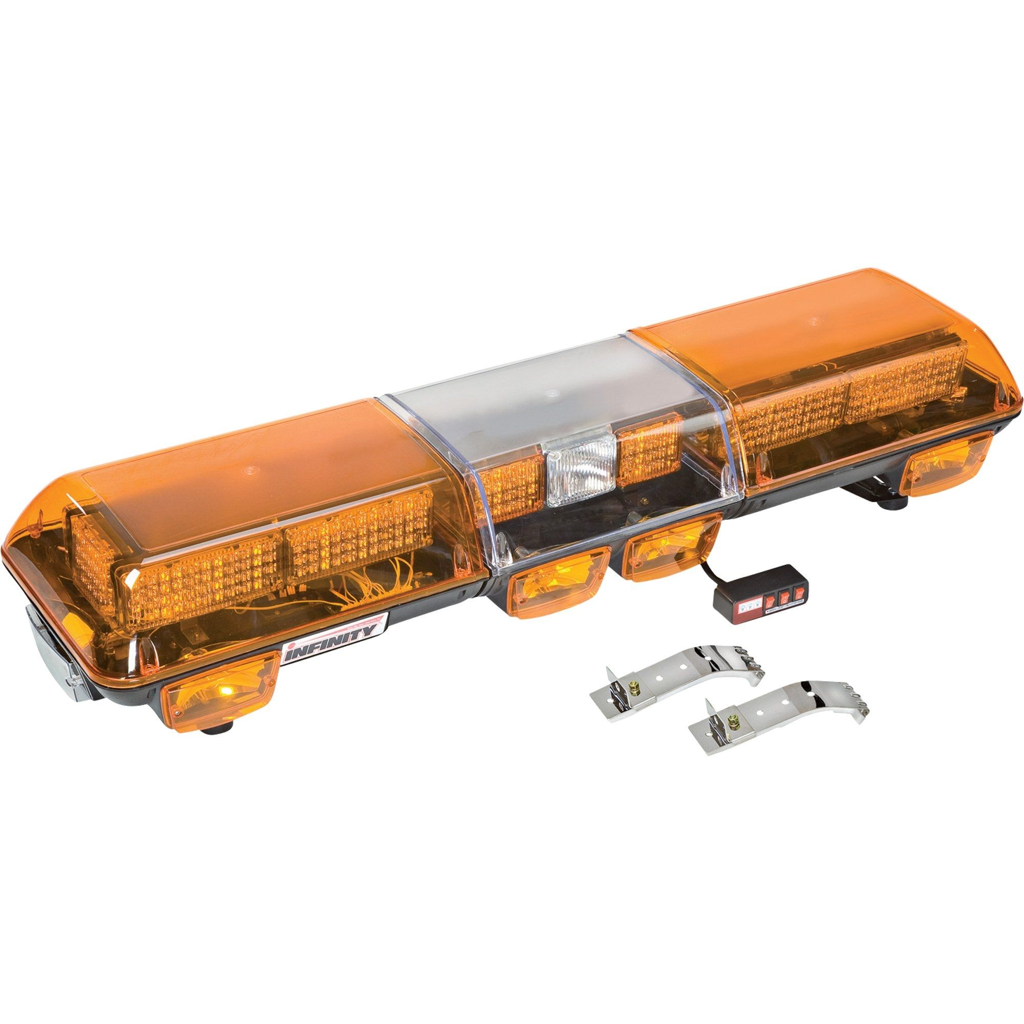 Led amber caution light bar httpscartclub pinterest led amber caution light bar aloadofball Choice Image