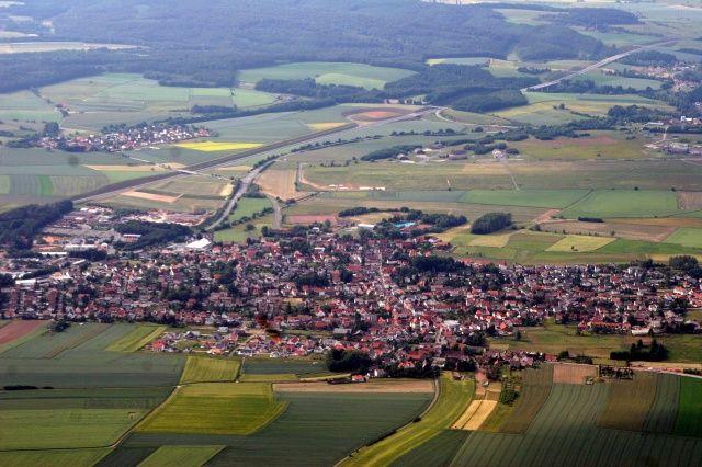 Ramstein AFB , Germany | Aerial view, Germany, Kaiserslautern