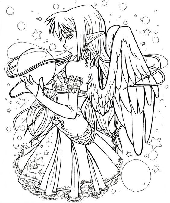 Anime Free Colouring Pages Coloriage Dessin Coloriage Coloriage Manga