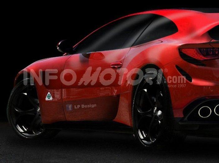 Opera del designer Lp Design il render di questo concept. L'auto in questione è il concept dell'Alfa Romeo Estrema.