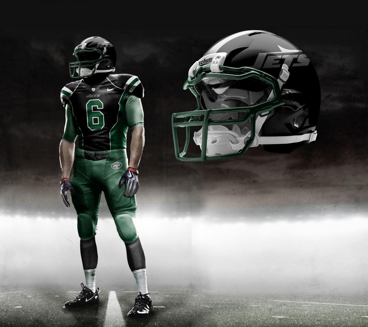 3d46cdfc Jets Redesign | Design | Nfl uniforms, 32 nfl teams, Nfl fans