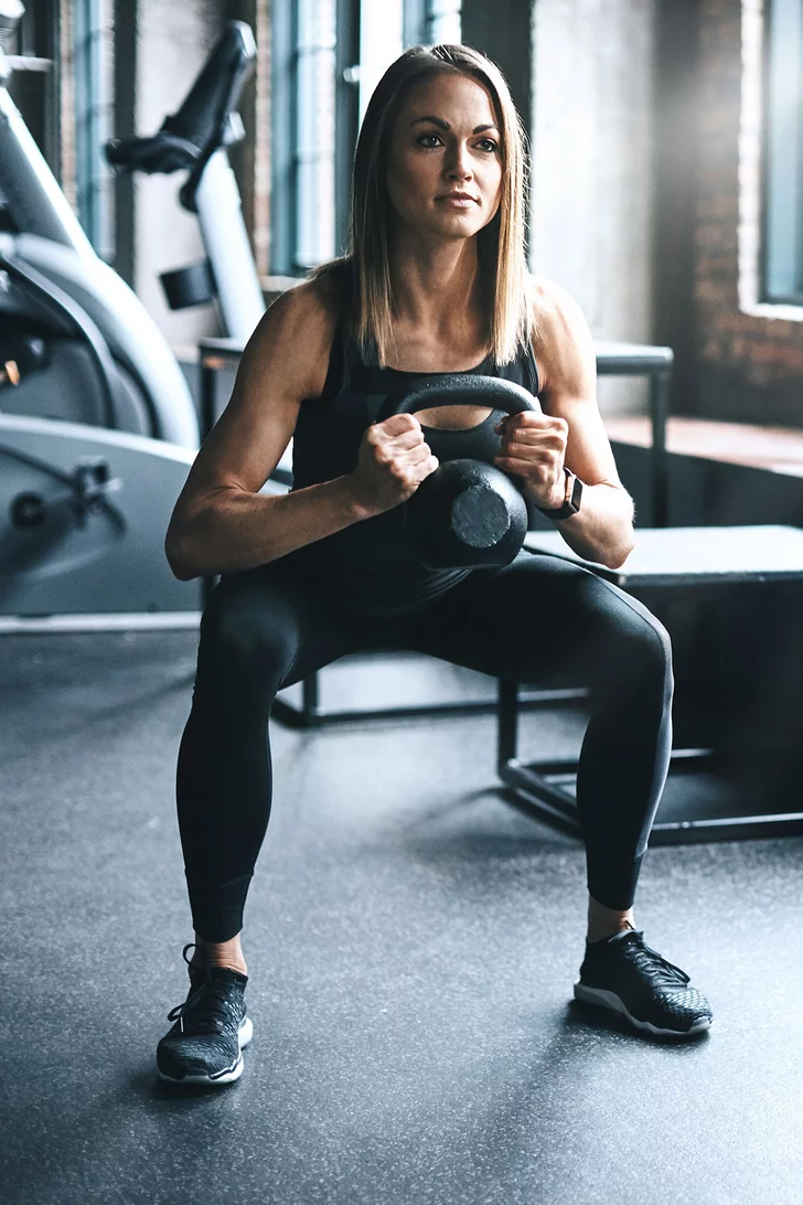You Only Need 1 Kettlebell For This TotalBody Workout