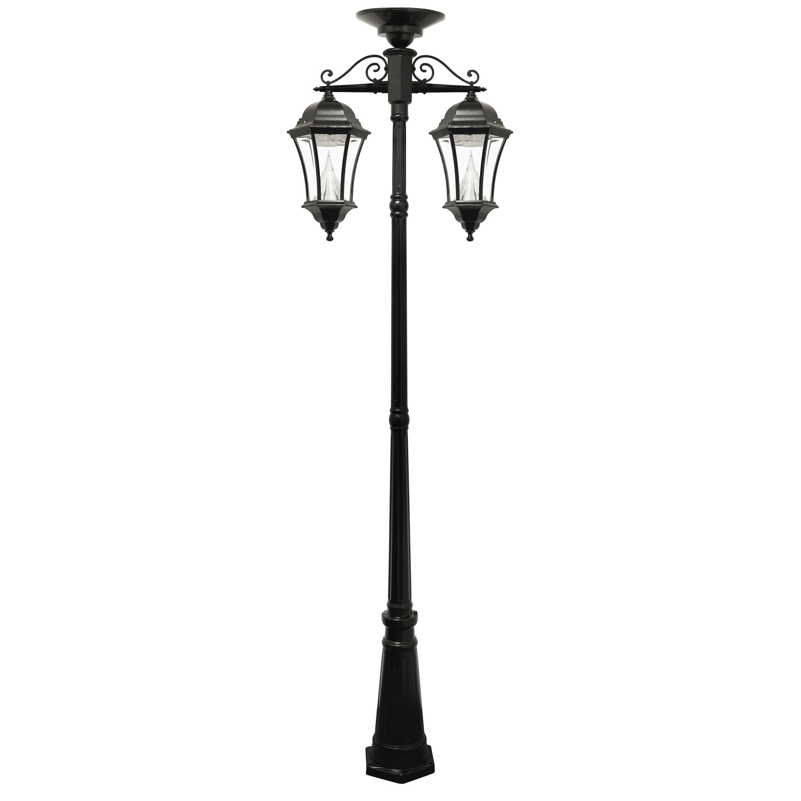 Sonic victorian solar two lamp outdoor lamp post victorian solar sonic victorian solar two lamp outdoor lamp post victorian solar lamp post and 2 mozeypictures Gallery