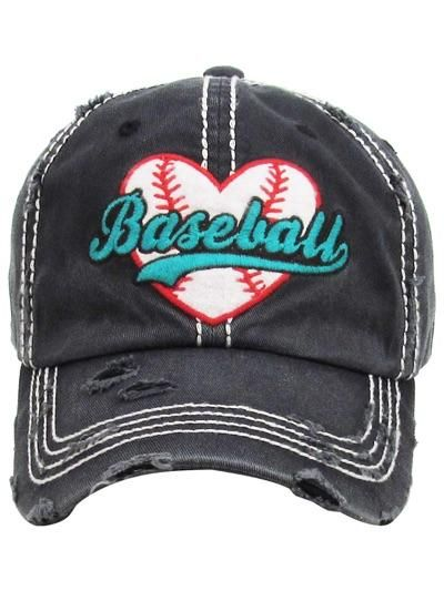 553089889d094 Vintage Washed Baseball Hat – Thompsons Vintage Treasures