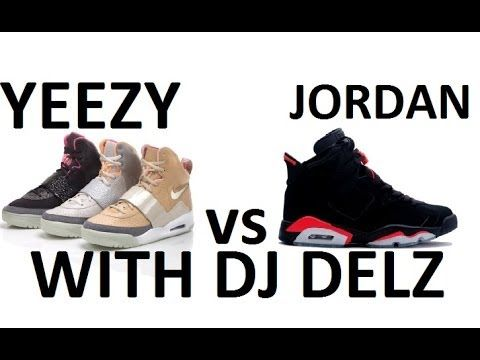 2e87543fd ▷ Kanye West s Nike Yeezy VS Michael Air Jordan - YouTube ...