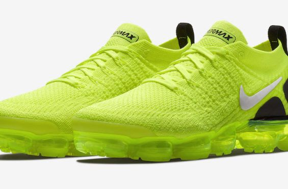 76af946704e5 Official Images  Nike Air VaporMax 2 Volt The updated Nike Air VaporMax 2  is getting