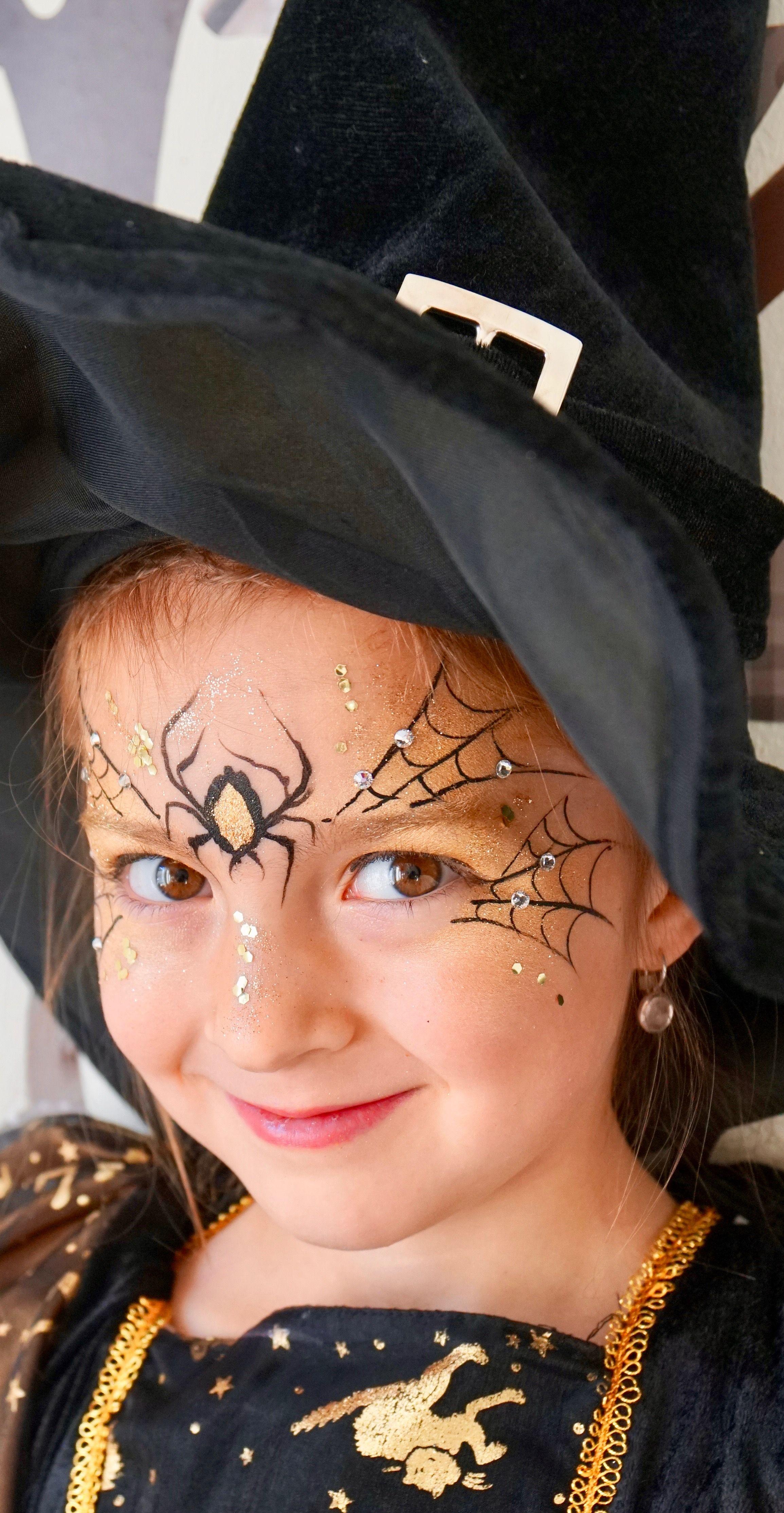 Halloween Schminktipps Kinder Hexe.Pin Auf Kinderschminken