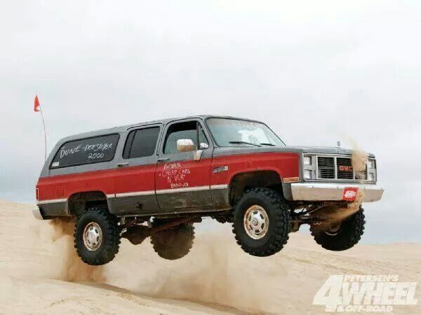 1985 Chevy Suburban 3 4 Ton 350cid V8 With 302 Fulely Heads Lifted