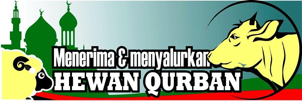 Contoh Desain Banner Spanduk Hari Raya Qurban Free Vector Desain Banner Spanduk Desain Grafis