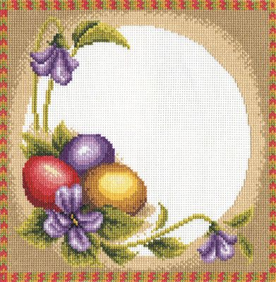 Набор для вышивания Panna ПР-0228 Пасхальная салфетка