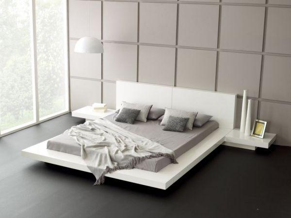 quadrat muster minimalismus ideen schlafzimmer in weiß ähnliche - minimalismus schlafzimmer in weis