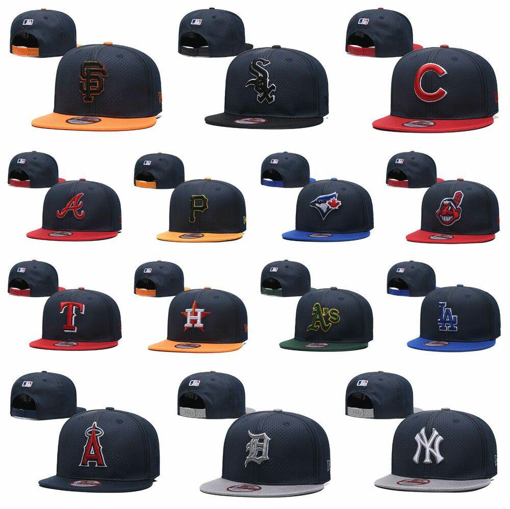 All Teams Baseball Mlb Cap 9fifty Fitted The League Hats Snapback Caps Unisex Us Fashion Clothing Shoes Ac Yankees Baseball Cap Mlb Baseball Sport Snapback