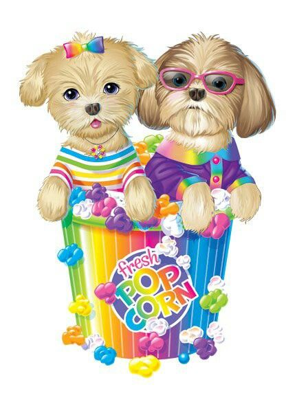 Lisa Frank OH MY DOG She Is Brillant