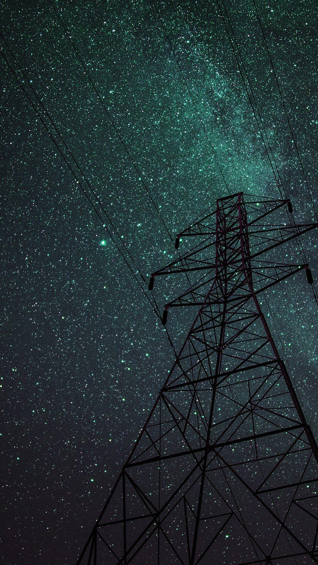 Night Sky Iphone Wallpapers in 2020 Iphone wallpaper sky