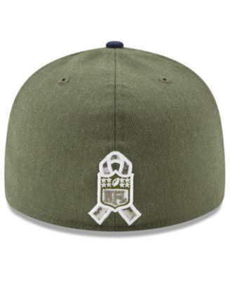 buy popular 2483e aa77e New Era Chicago Bears Salute To Service Low Profile 59FIFTY Fitted Cap 2018  - Green 7 5 8