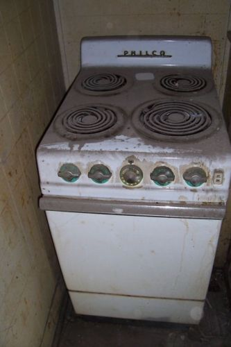 Antique Vintage Philco Electric Range Oven 40s Or 50s Small Apartment Size Ebay