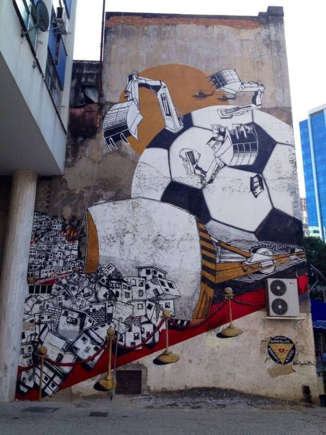World Cup Street Art 2014 Rio *** Interested in Art? Check ...