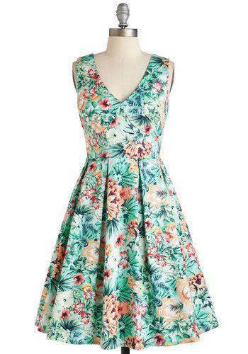 d14dcb9fa6 Perks and Caicos Dress - Mid-length