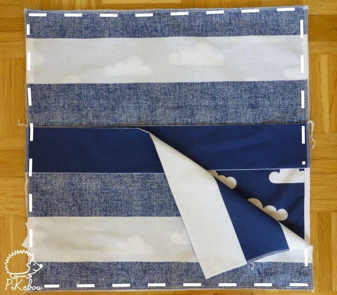 DIY – les coussins passepoilés – Pikebou