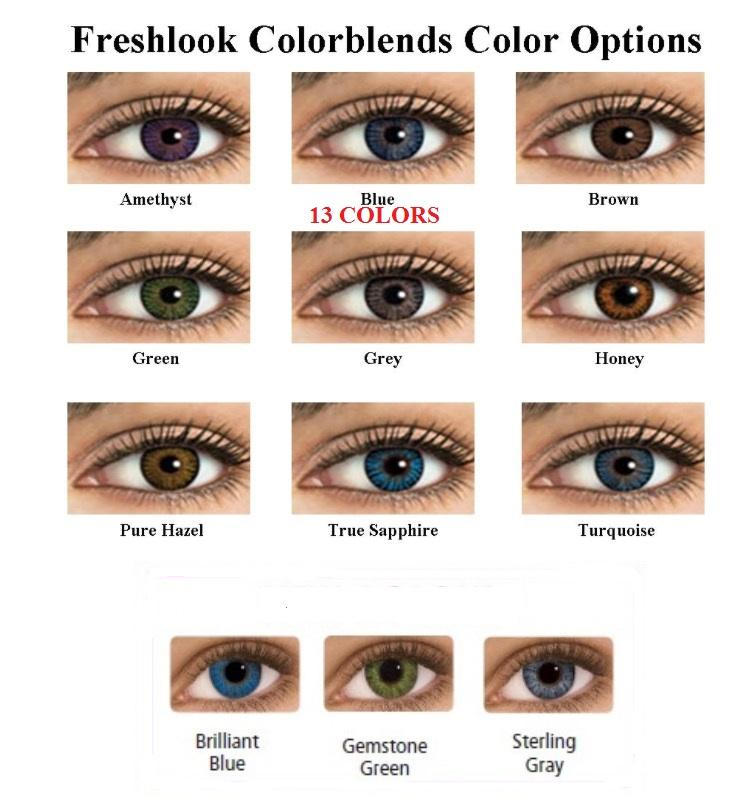 Freshlook Color Contacts Lenses Colorblends Lens Last 2 Years We Ship The Same Day 1 Bestseller Contact Lenses Colored Fresh Look Contact Lenses Colored Contacts