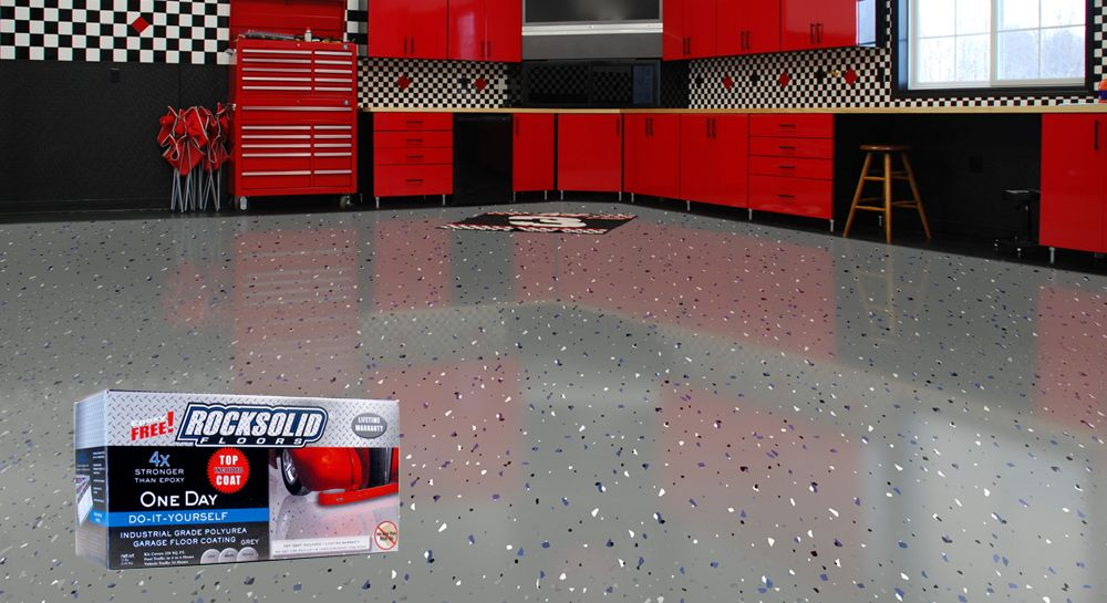 Best garage floors ideas lets look at your options garage floor ideas easy and affordable options garage flooring ideas paint concretegarage solutioingenieria Gallery