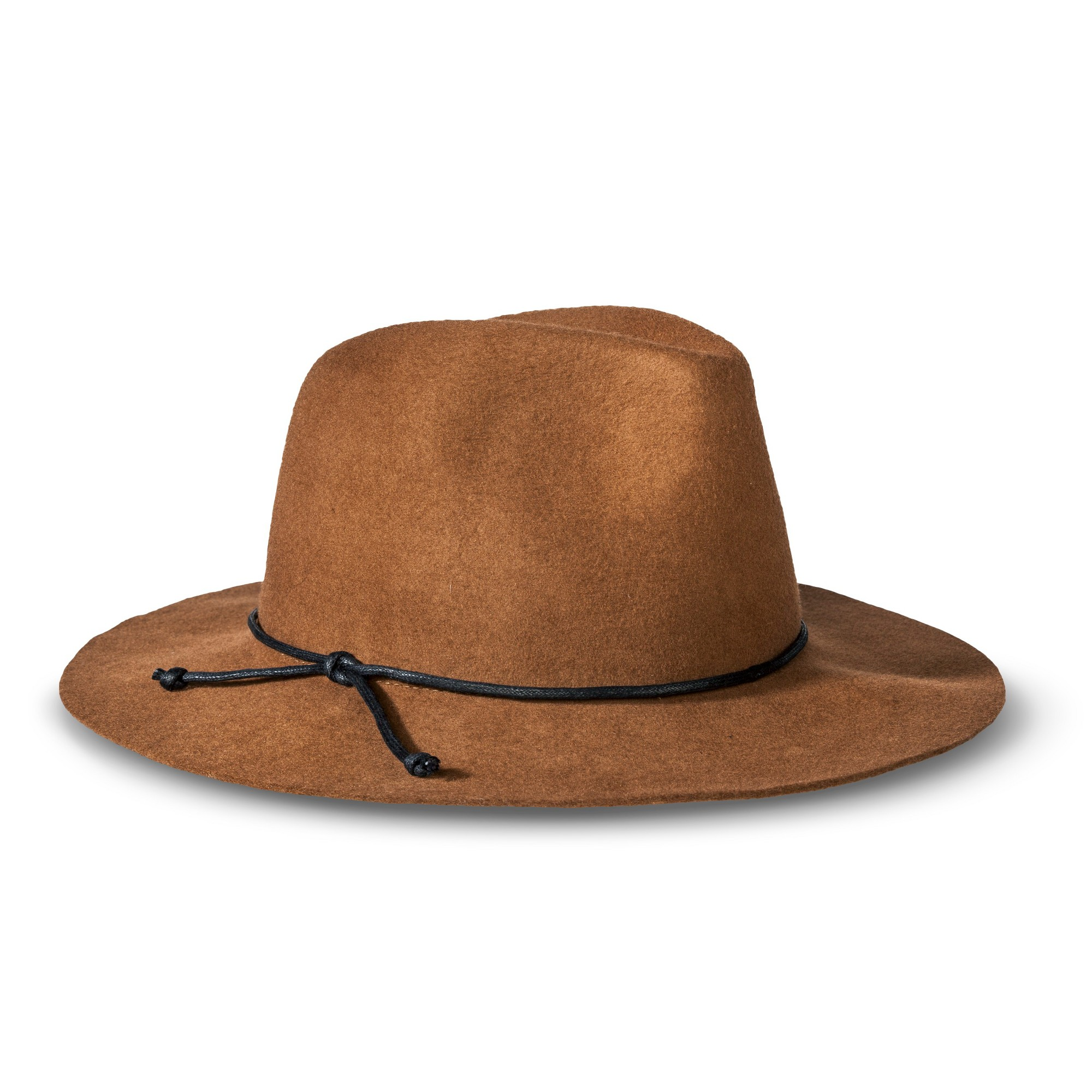72534c08b299c Men s Solid Fedora Hat Brown - Merona