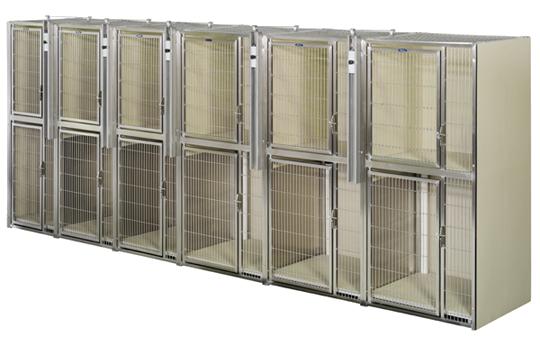 12 Unit Space Saver Modular Kennel Space Savers Kennel Modular