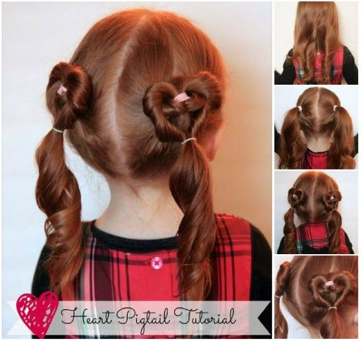 Pin By Diy Beauty And Ideas On Hair Hair Styles Valentine S Day Hairstyles Kids Hairstyles