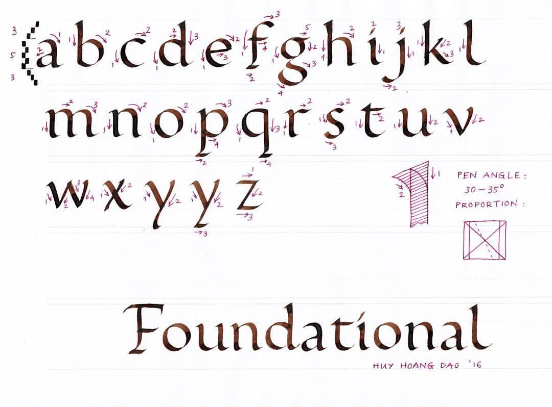 foundation handwriting font free download