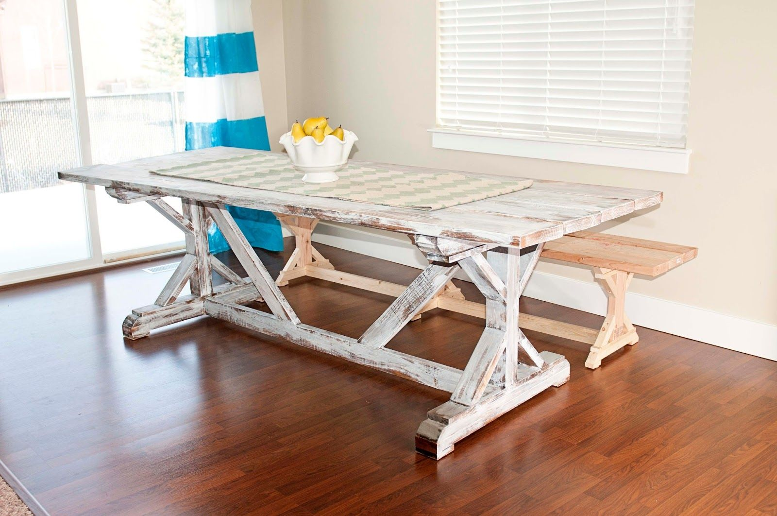Carissa Miss DIY Farmhouse Table Finish Not Fond Of The White Wash But That Can