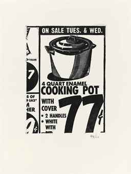 ARTIST: ANDY WARHOL. TITLE: Cooking Pot