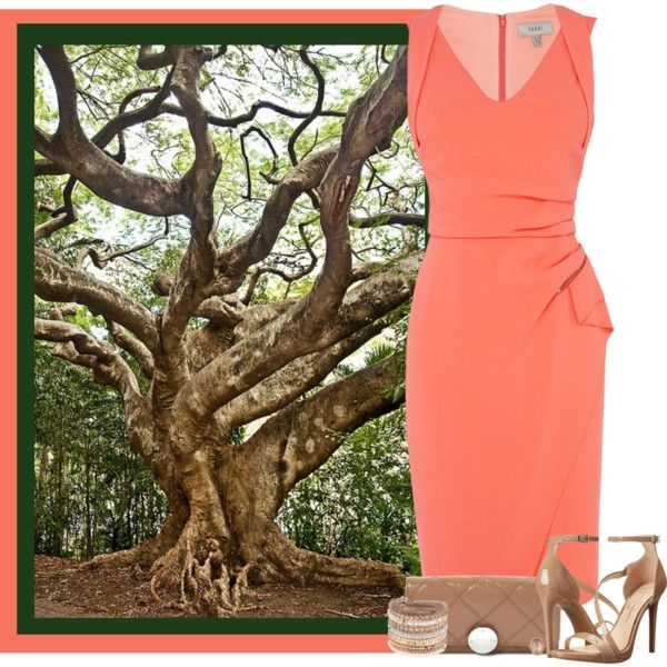A Tree in Australia by maggiesuedesigns on Polyvore featuring Jessica Simpson, Marc Jacobs, ALDO, Larkspur & Hawk, women's clothing, women's fashion, women, female, woman and misses