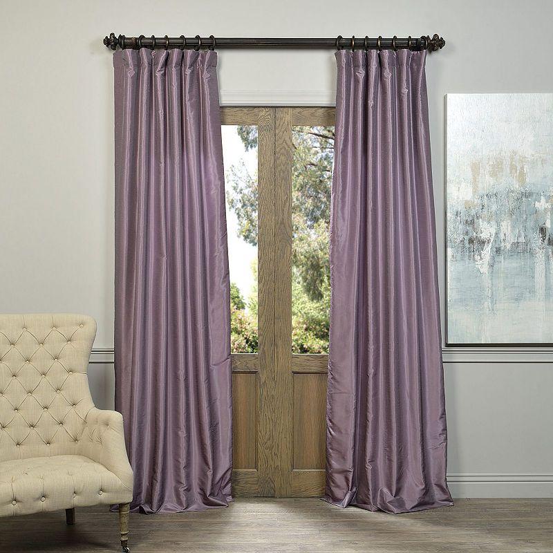 Exclusive Fabrics Furnishing Vintage Textured Faux Dupioni Silk