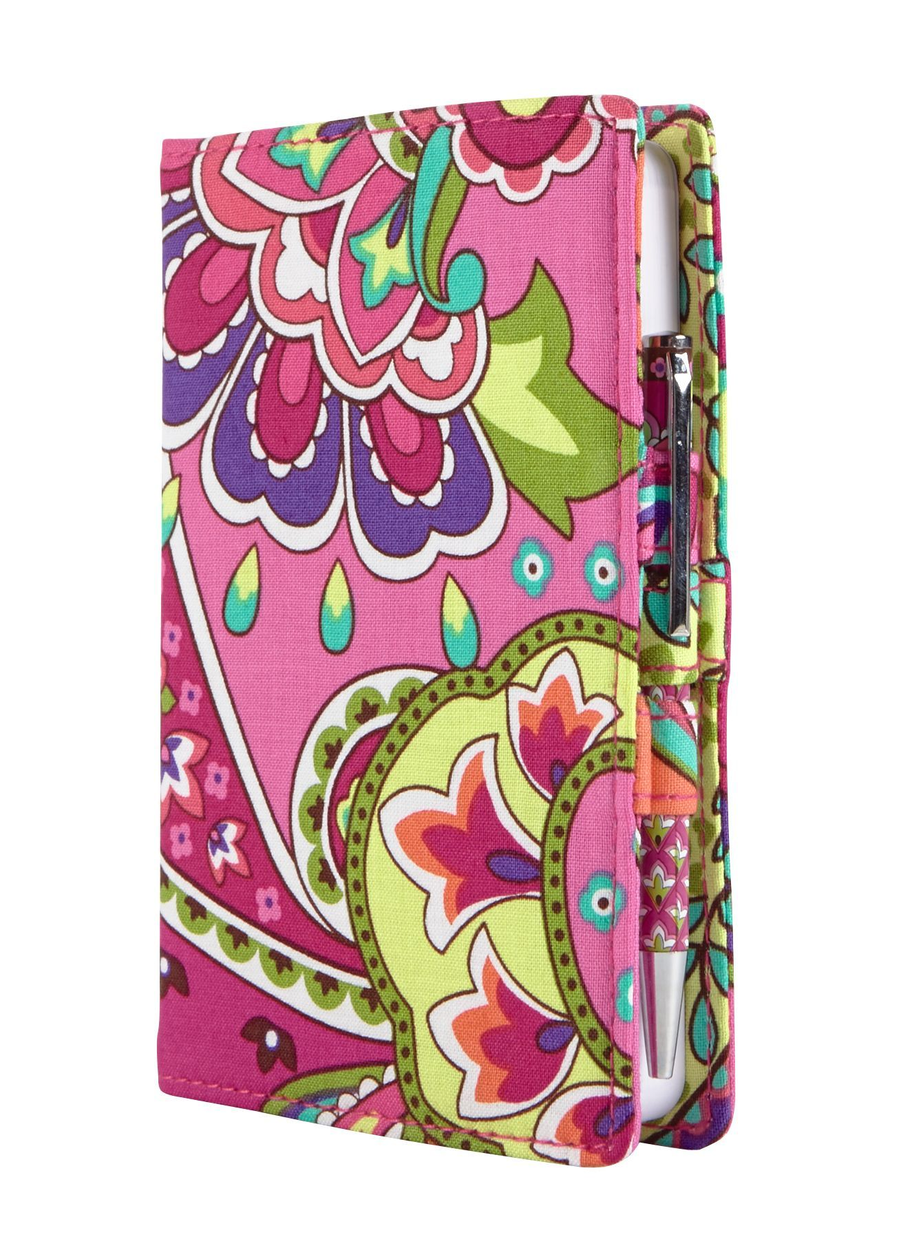 Vera Bradley fabric journal - Pink Swirls  f5bdc9928cf33