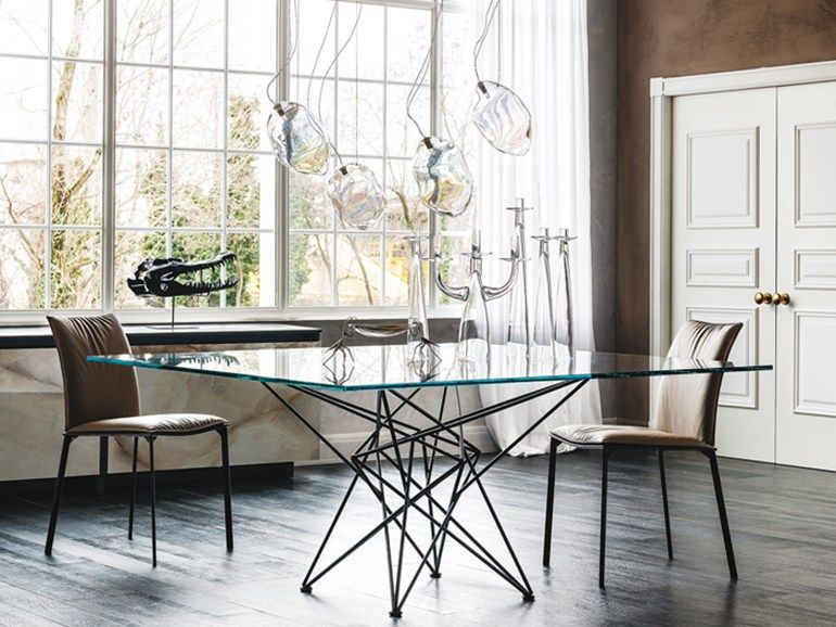 Rectangular Crystal Table Gordon By Cattelan Italia Design Giorgio