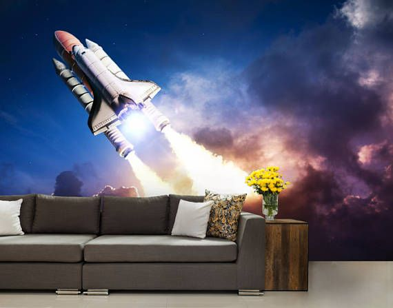 Space shuttle wallpaper space shuttle wall mural space shuttle