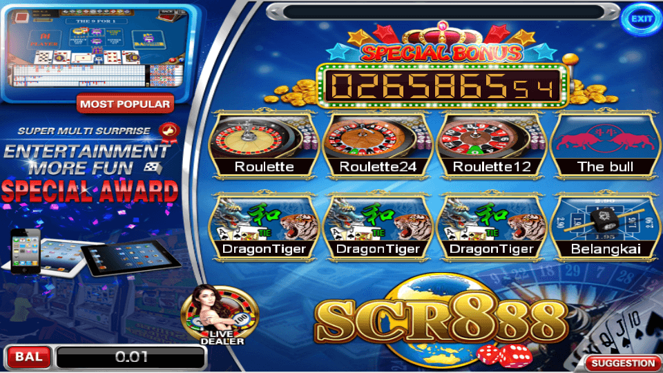 Net casino games