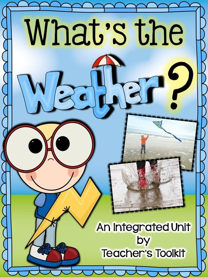 'What's The Weather?' is an completely integrated unit for teaching the topic of weather. My aim was to make this unit as wide-ranging as possible to suit varied ability levels. The pack content should give teachers enough element of choice to suit students' needs.