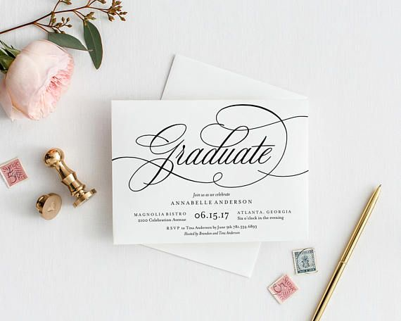 editable template instant download musical graduation party