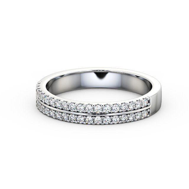 IGI Certificate Round Diamond Double Channel Half Eternity