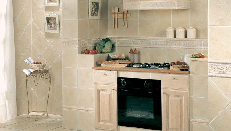 El esp ritu de hogar queda plasmado en la calida - Azulejos rusticos cocina ...